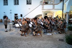Konzert Schloss Ort 14.08.2019 - MV Offenhausen